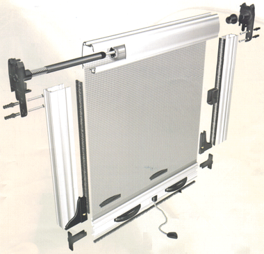 Euroscreen for Pull down fly screen for doors
